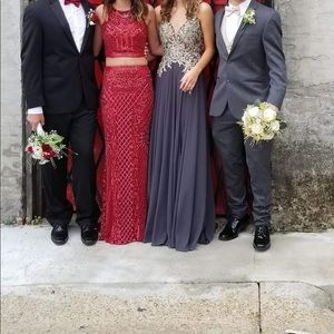 Red Jovani prom dress